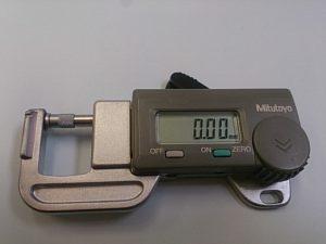 0.01mmから測定が可能